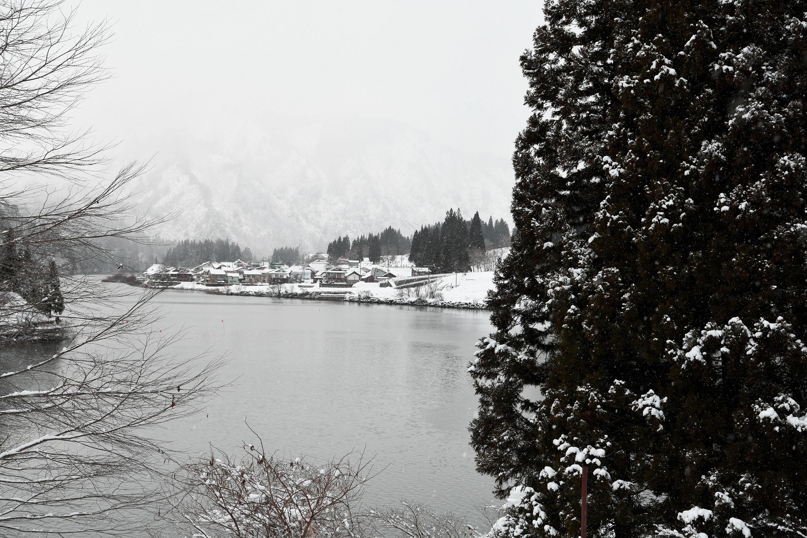 福島金山町大志地區