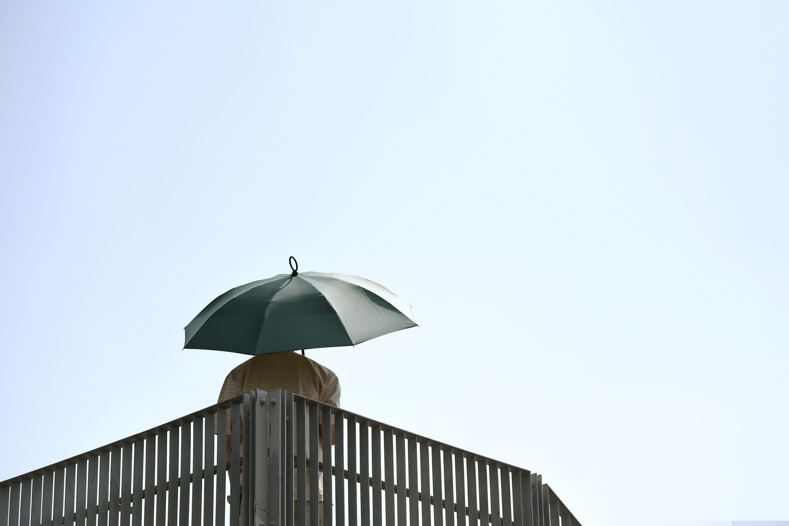一秒瞬收二折反向傘