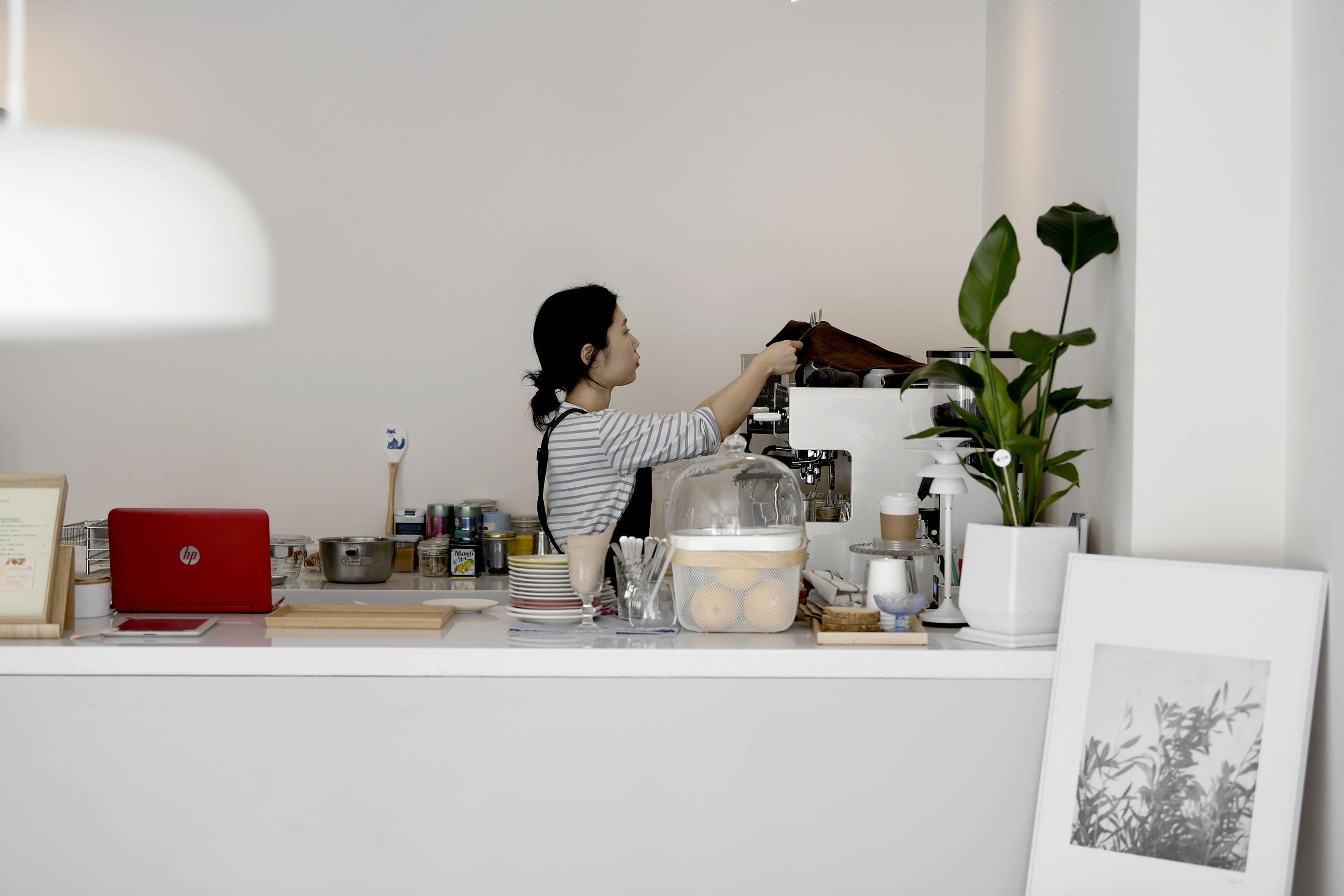 평행선 首爾咖啡