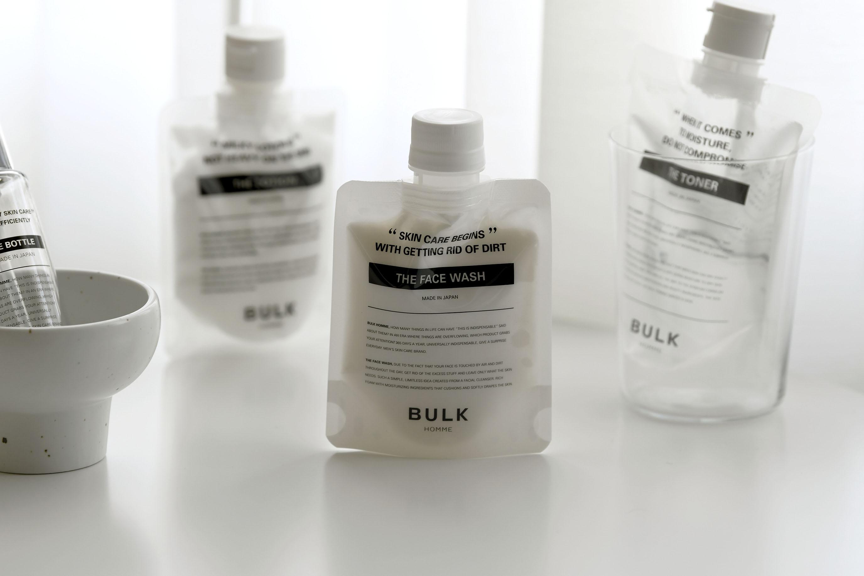 BULK HOMME 洗面乳