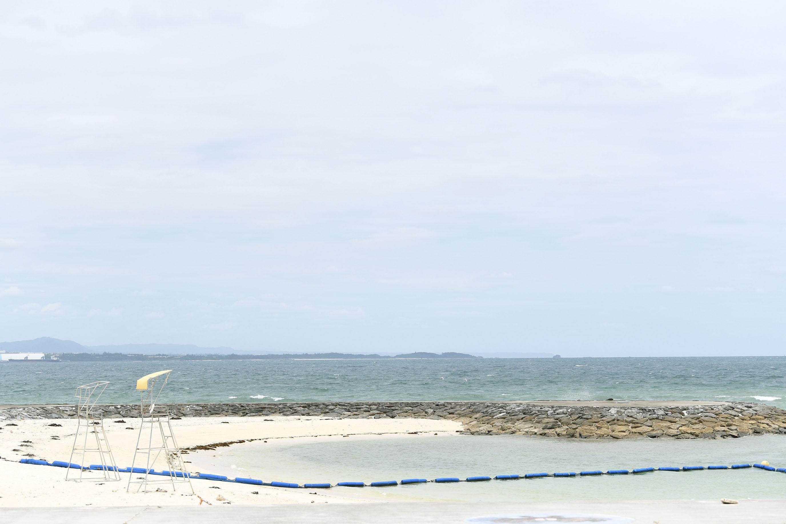 宇堅海灘 沖繩