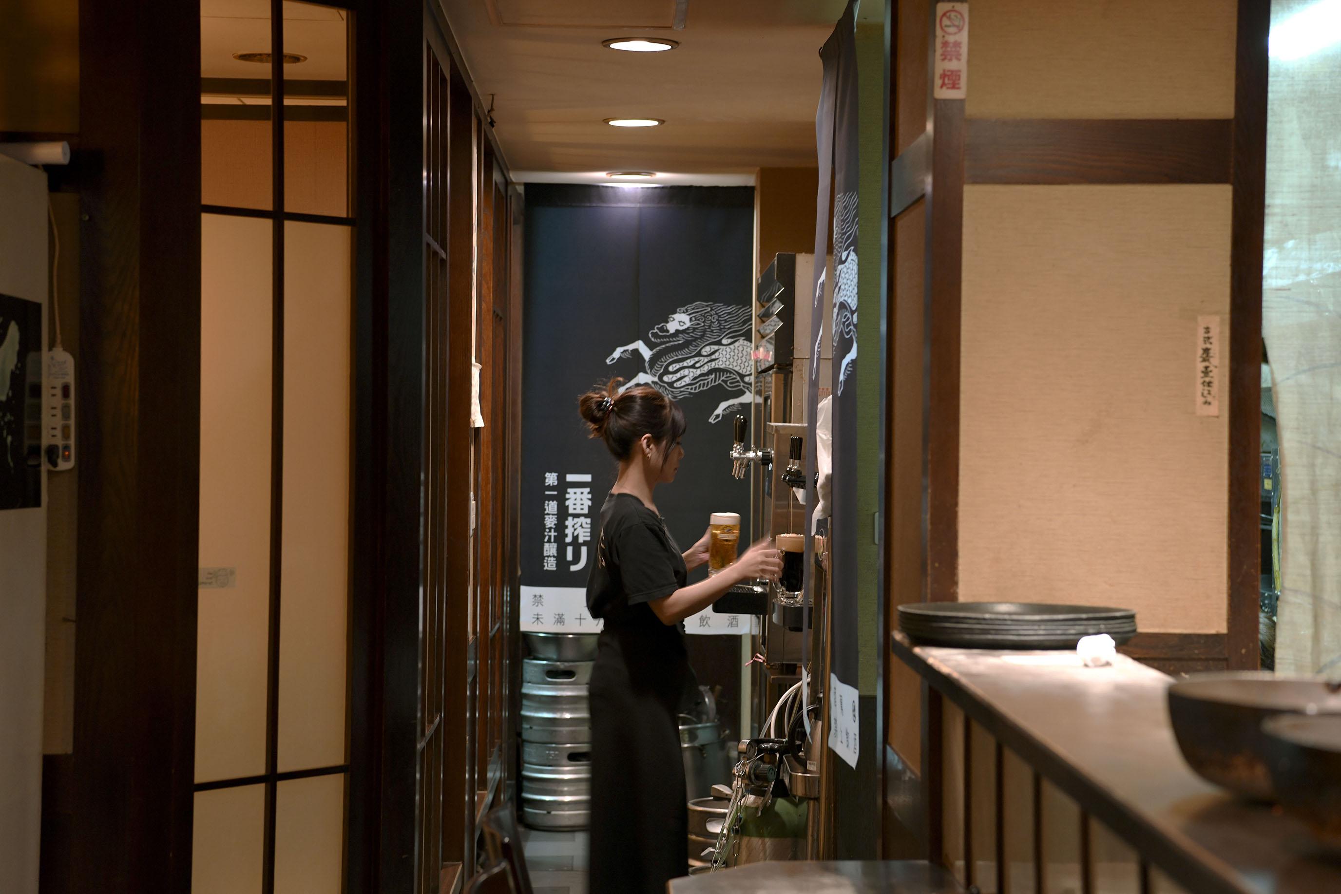 入夜的台北林森北路,有能盡情紓壓的歡酒場|麒麟一番搾り啤酒