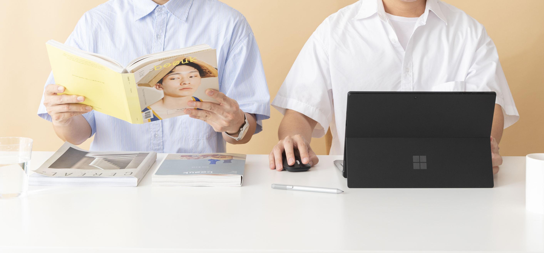 一種默契,我們用 Microsoft  Surface Pro 7 一起分享生活、也記錄日常。