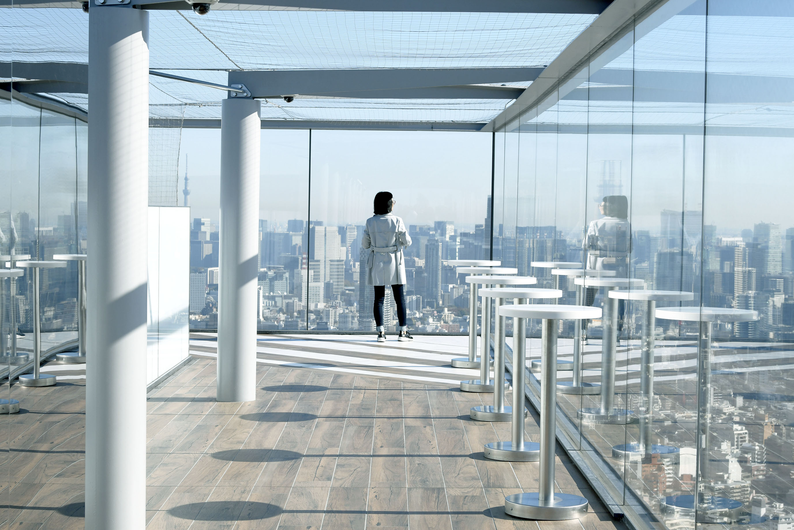 在東京澀谷,與富士山道早安|SHIBUYA SCRAMBLE SQUARE