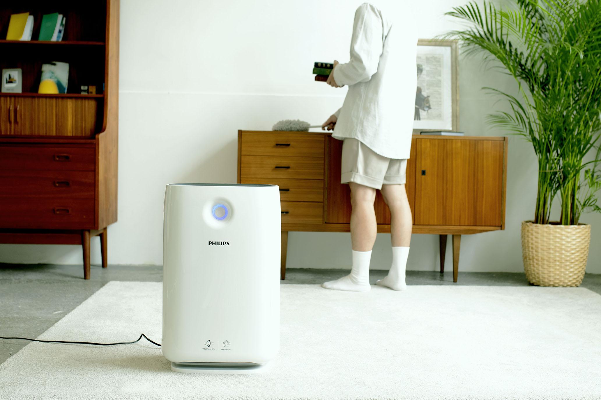 網站近期文章:飛利浦智能 WiFi 抗敏空氣清淨機AC2889,幫你濾淨居家99.9%的PM0.02 懸浮微粒。