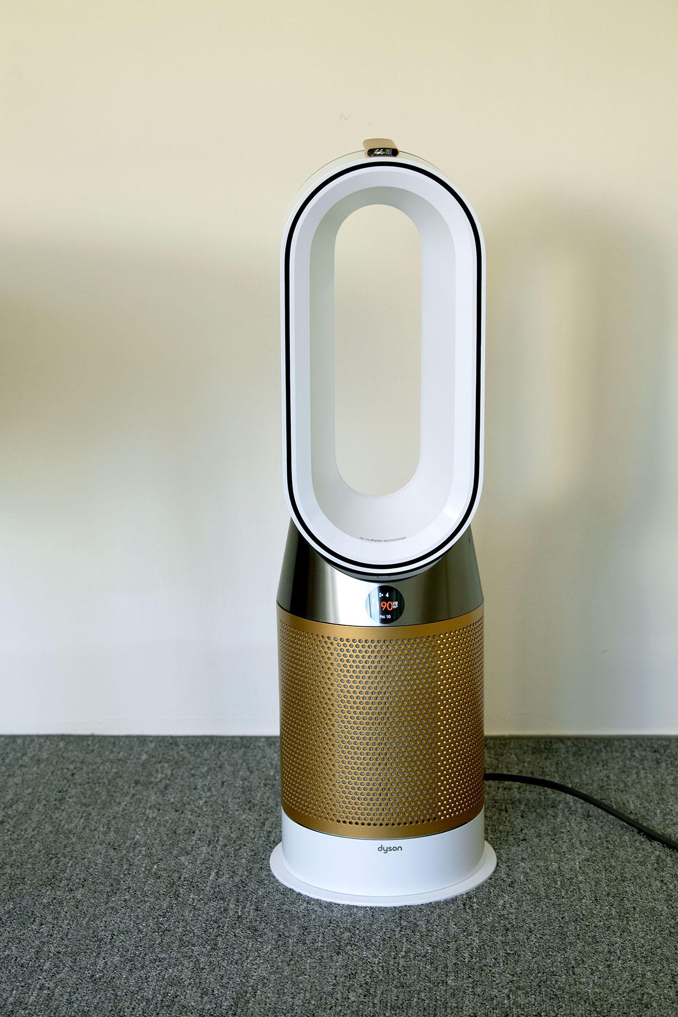極簡美化也淨化居家空間 Dyson 三合一涼暖智慧空氣清淨機HP06