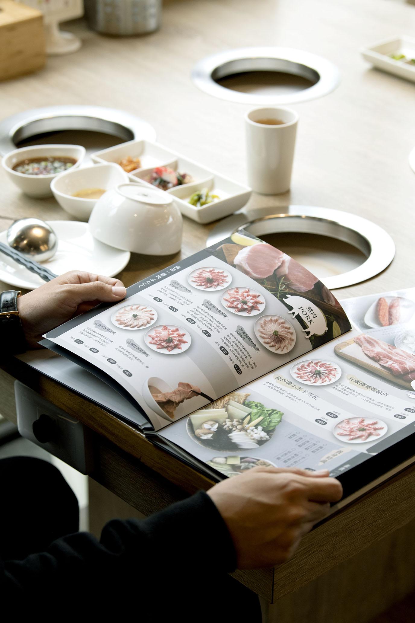 桃園55pot精緻鍋物 清新氛圍,套餐式火鍋舒心合味。