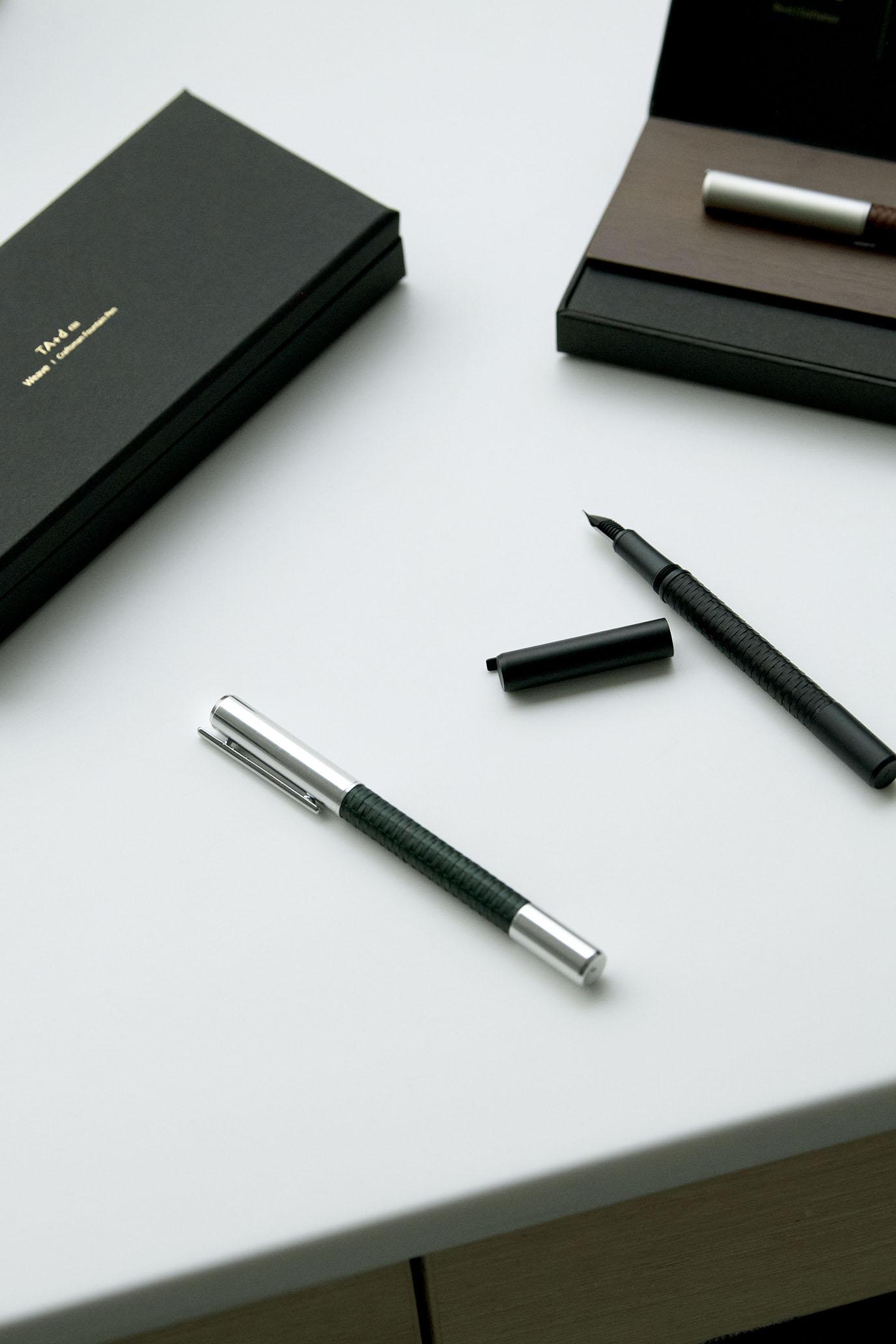 一筆在手,實現設計工作者的完美想像|TA+d 筆力尺+竹織鋼筆