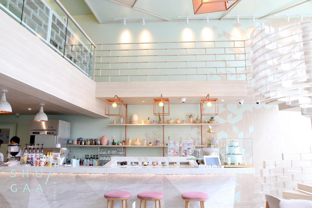 【男子曼谷旅行】SHUGAA,曼谷粉嫩甜點空間,這一次遇見水晶玻璃球夢幻世界。曼谷咖啡廳/通羅區/設計咖啡 @MENS 30S LIFE