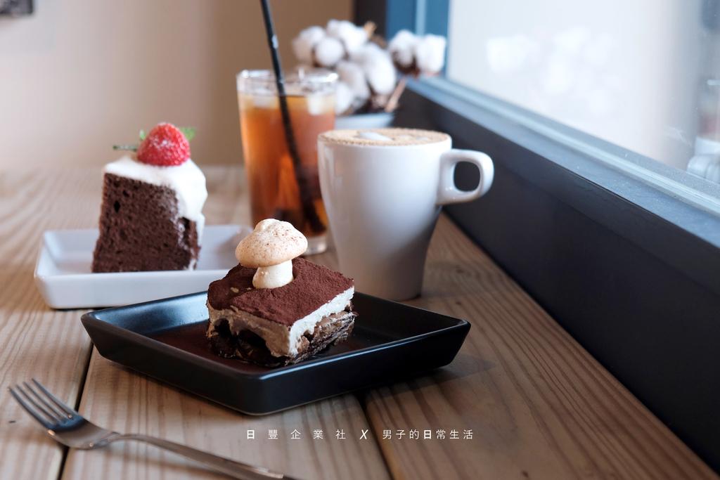 日豐企業社 新莊,坐在汽車百貨裡,陪伴的是咖啡香與溫暖手作甜點。【男子的日常生活】 @MENS 30S LIFE