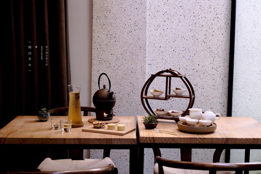 台北 開門茶堂,今日暫時與咖啡館分手,我在茶堂找到另一次的味蕾悸動。中秋節伴手禮/民生社區下午茶/綠豆糕【男子的日常生活】 @MENS 30S LIFE