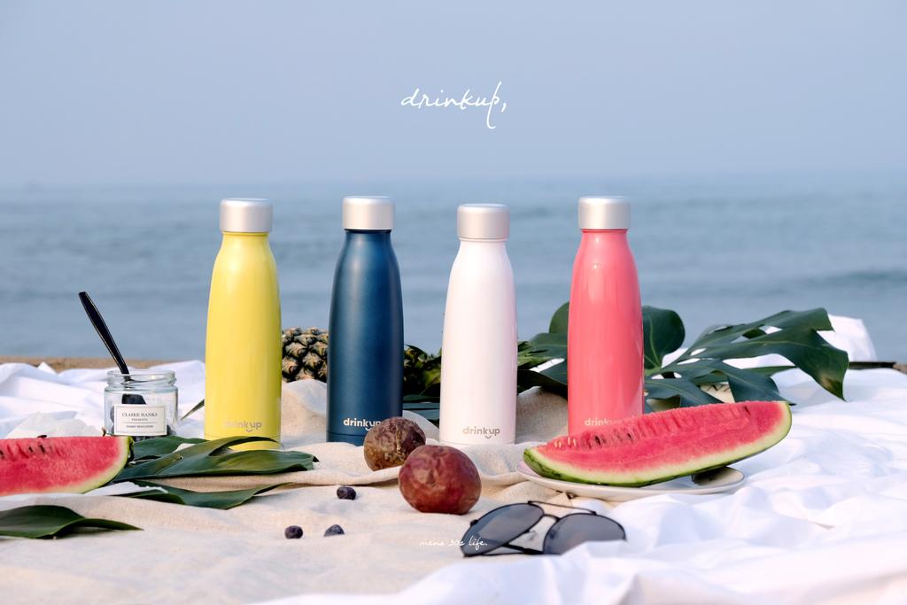 DrinKup 智慧保溫瓶,讓日常喝水也能變得更加時髦有趣。【男子的日常生活】 @MENS 30S LIFE