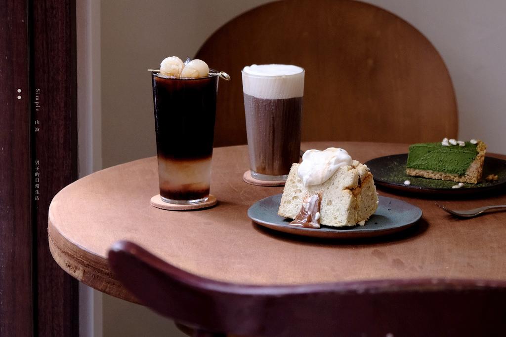 山波 Simple,簡單生活小店,你我的羊焦糖戚風與各種風味冰釀咖啡。淡水甜點/台北咖啡/真理大學美食【男子的日常生活】 @MENS 30S LIFE