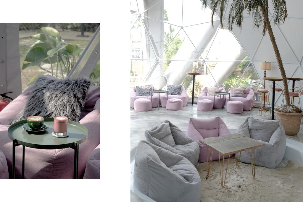 台北 Drunk cafe 爛醉咖啡,球型溫室咖啡館,陽光下的粉紅慵懶時刻。東區餐酒館/國父紀念館美食/華視【男子的日常生活】 @MENS 30S LIFE