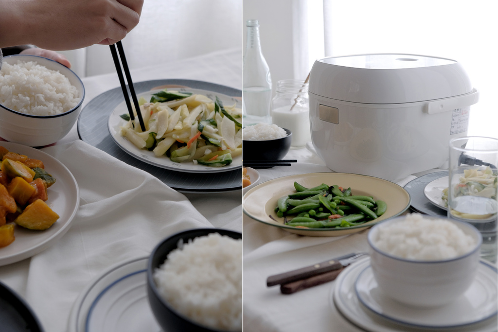 Panasonic IH電子鍋SR-KT067,忙碌日常裡,溫暖米飯是幸福餐桌上的靈魂。10項炊煮行程/LED面板/日系品牌家電【男子的日常生活】 @MENS 30S LIFE