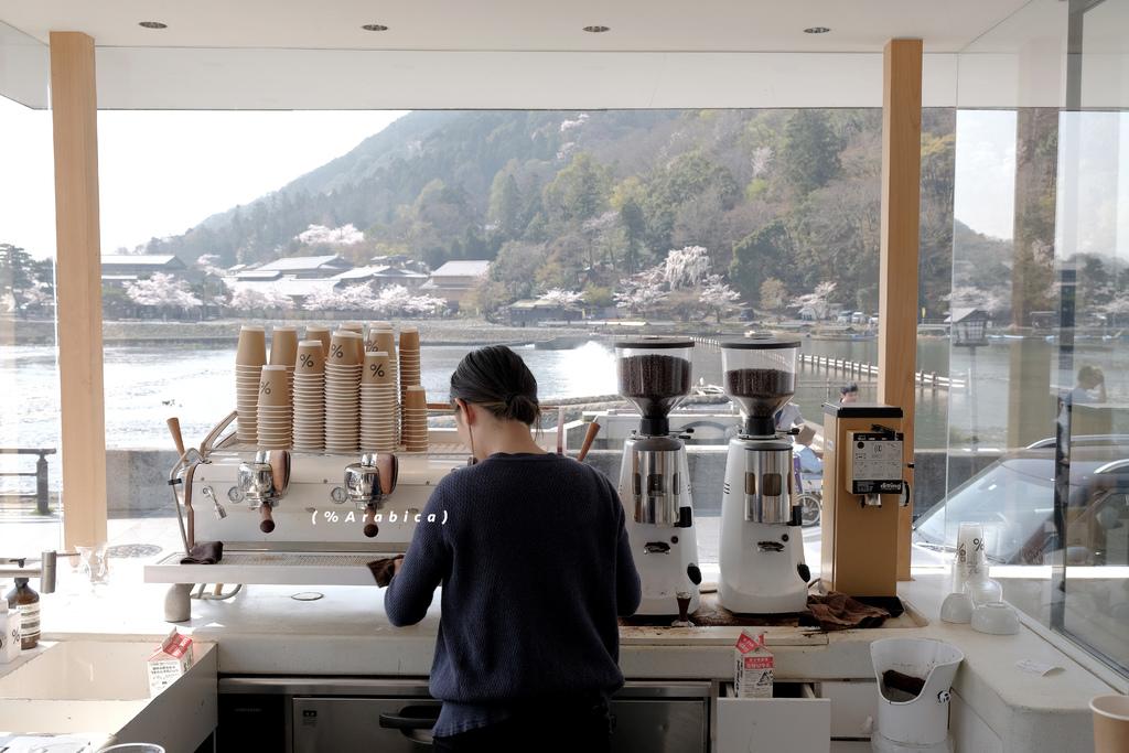 【男子日本旅行】京都嵐山 %Arabica,設計和咖啡一樣迷人,用咖啡旅行全世界。關西旅行/HORIZON-WIFI @MENS 30S LIFE