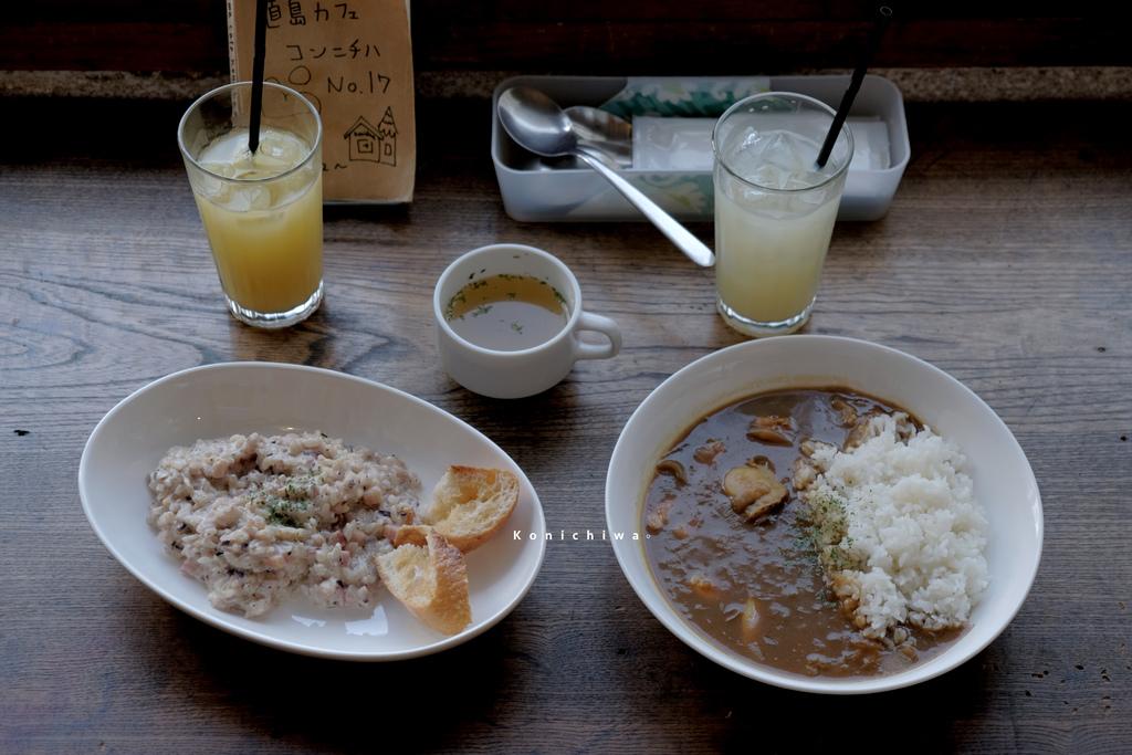 【男子日本旅行】直島 Cafe Konichiwa,老房子裡的海鮮咖哩料理,成了這次旅行記憶中的一種味道。カフェコンニチハ/HORIZON-WIFI @MENS 30S LIFE