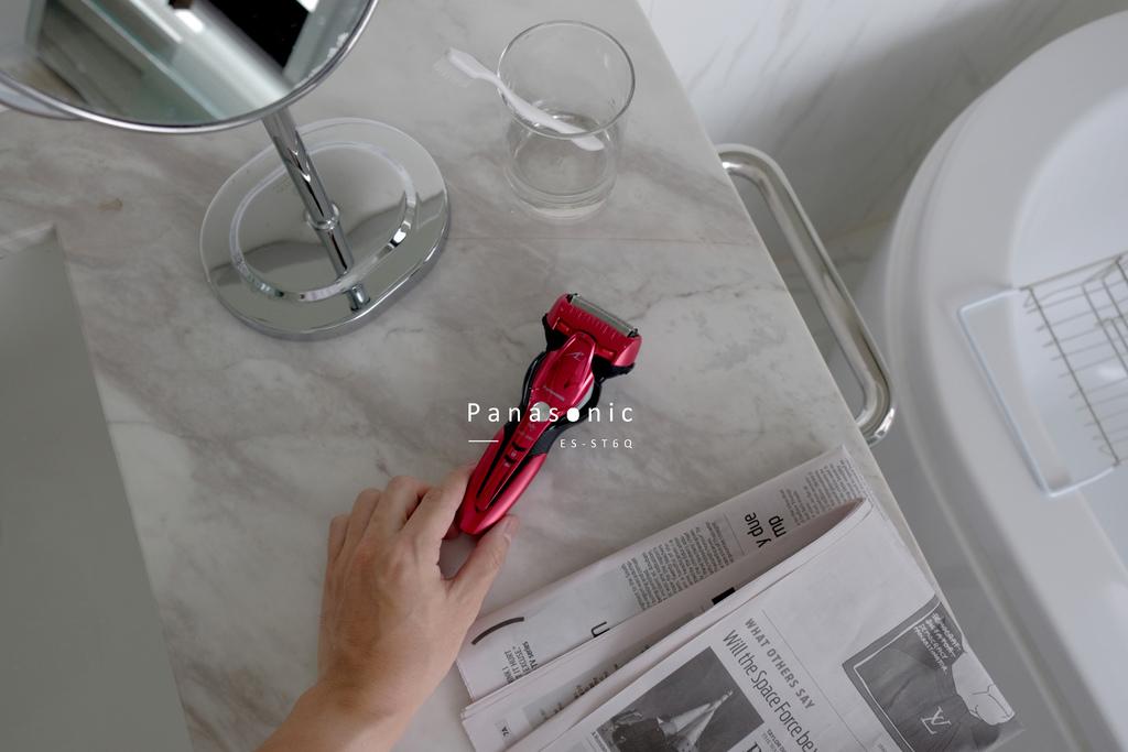 Panasonic ES-ST6Q 日本製3枚刃超跑系電鬍刀|決定不再留戀將就,把握每日3分鐘的Me Time,打理全新理想自我。 @MENS 30S LIFE