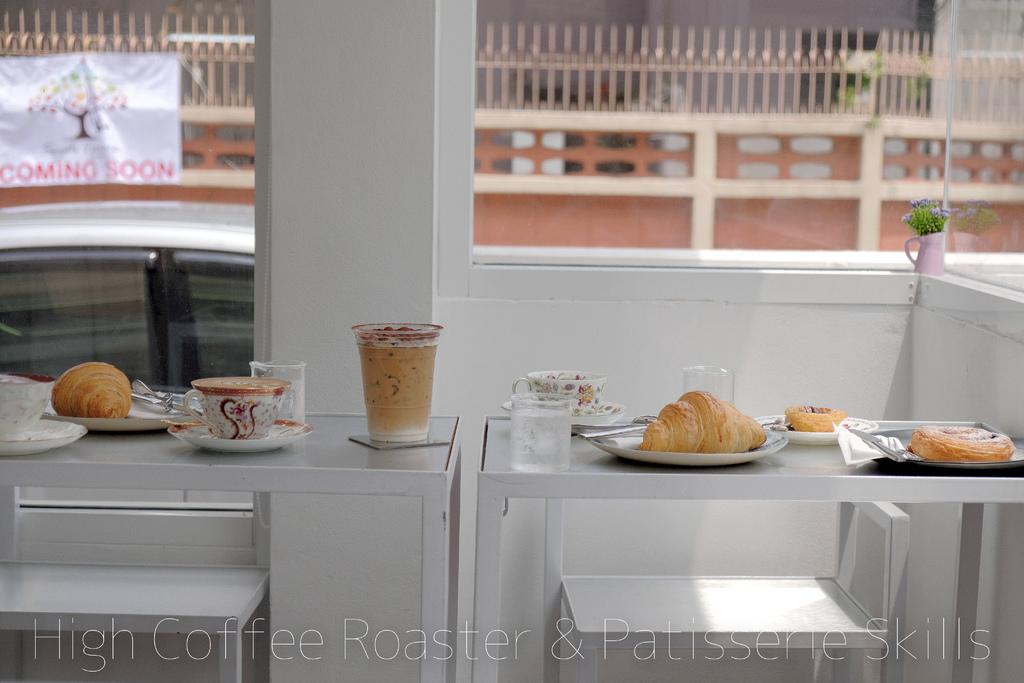 【男子曼谷旅行】High Coffee Roaster & Patisserie Skills,曼谷幸福之一,是晚起吃一份白色小清新早午餐。曼谷美食/咖啡 @MENS 30S LIFE