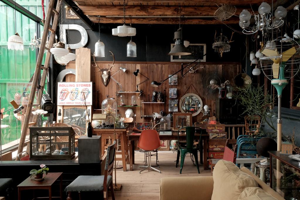 台北 56 Cafe,古董老物倉庫裡的舊食光。56 DECO 社子島/士林美食【男子的日常生活】 @MENS 30S LIFE