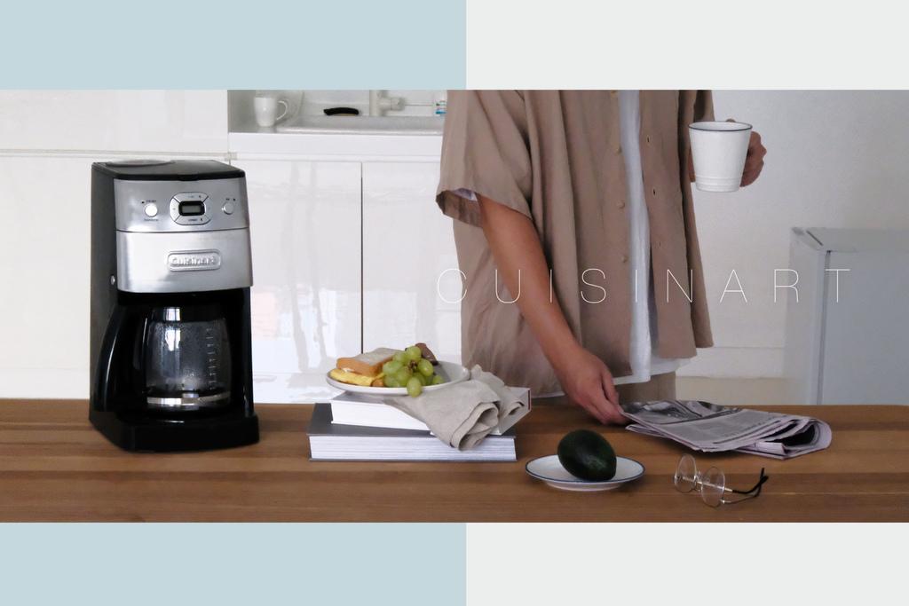 Cuisinart美膳雅12杯全自動研磨美式咖啡機|不再賴床,享受每日被咖啡香喚醒的早晨。 @MENS 30S LIFE