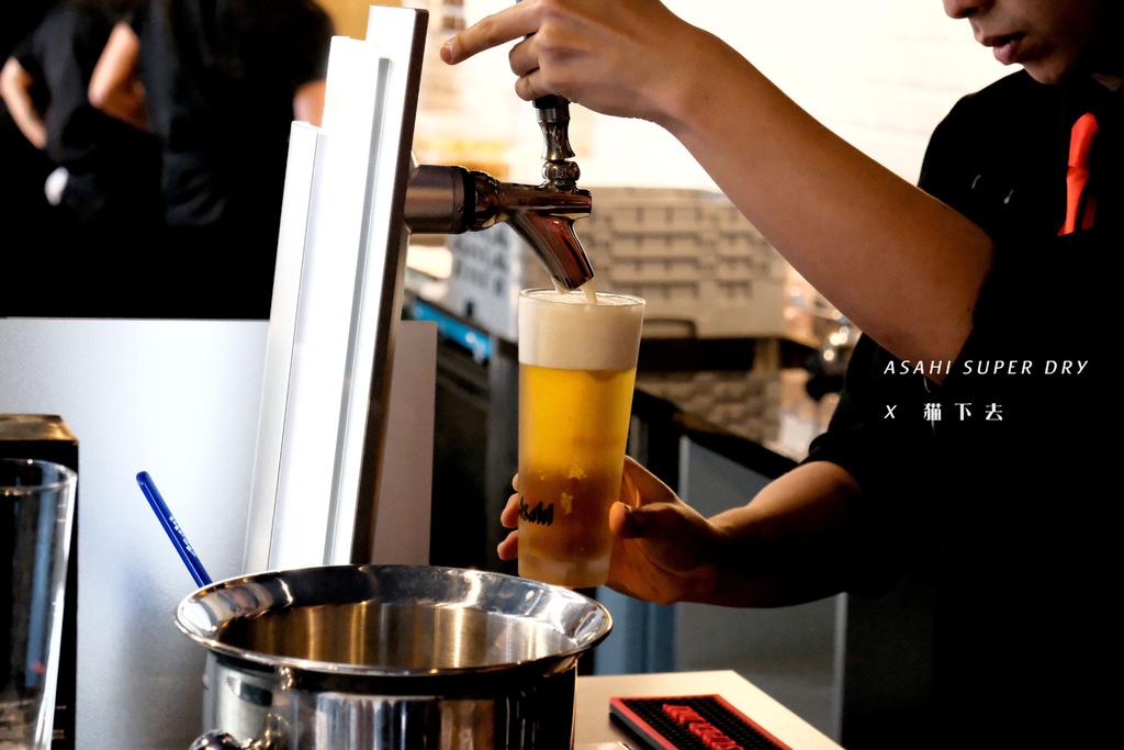 台北 Asahi SUPER DRY x 貓下去 信義區快閃啤酒吧|日子小聚,是一口令人陶醉的辛口啤酒,再一口涮嘴餐食。 @MENS 30S LIFE