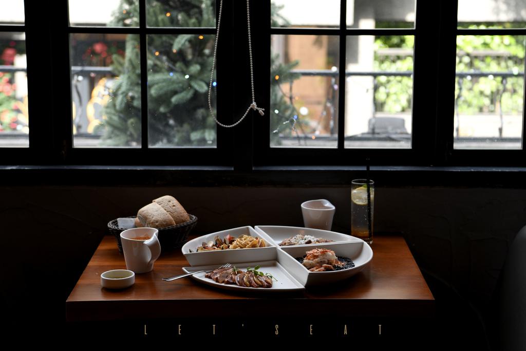 台北 吃義燉飯|三角餐盤拼湊出充滿趣味的義式風味料理。 @MENS 30S LIFE